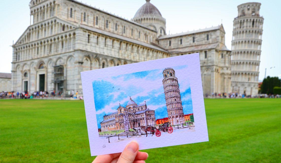 Talianska Pisa – jeden deň pri  najznámejšej šikmej veži sveta