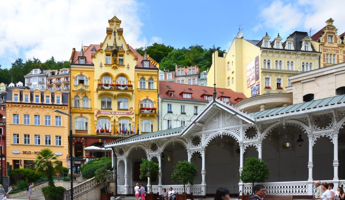 Karlovy Vary - Kolonády