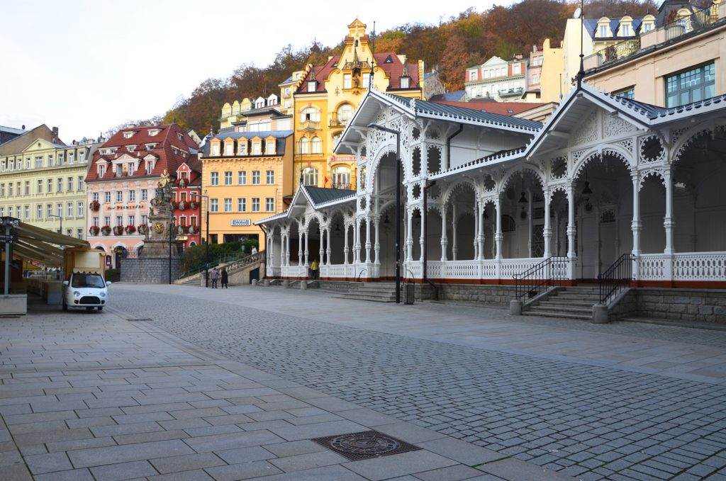 Karlove Vary - prechádzka mestom