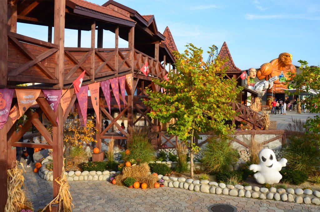 Jeseň v lunaparku
