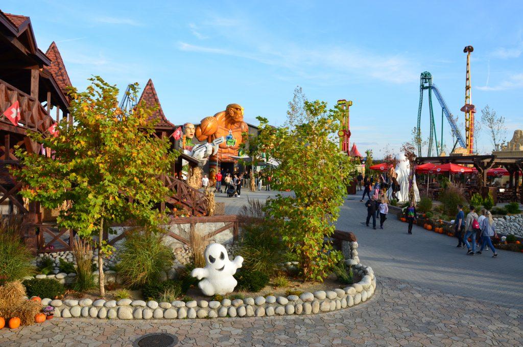 Víkend v zábavnom parku v Poľsku