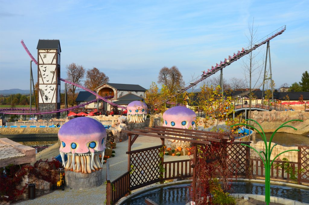 Zator - Atrakcie v lunaparku