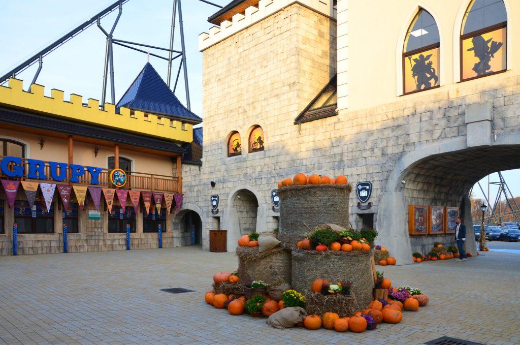 Počas nášej návštevy prebiehal Halloweensky víkend