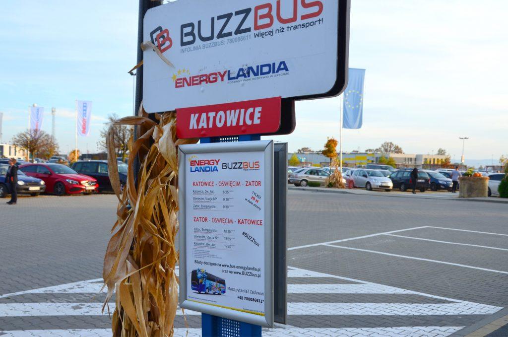 Chodí sem bus z Katovíc