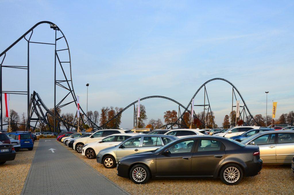 Parkovisko pre viac ako 2500 vozidiel