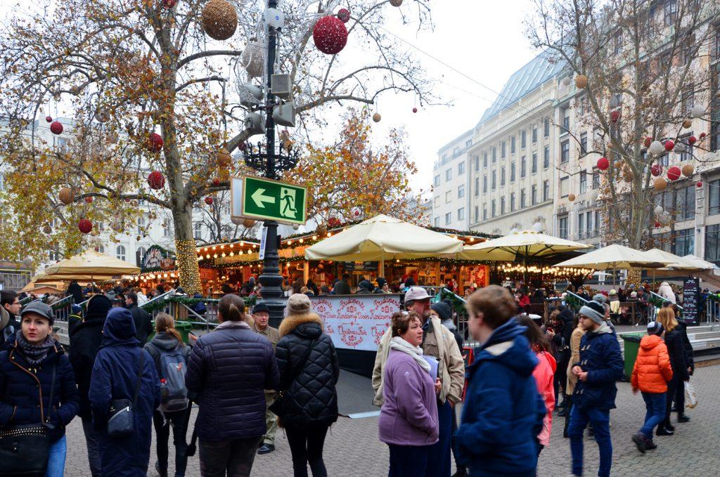 Budapešť - Vianočné trhy