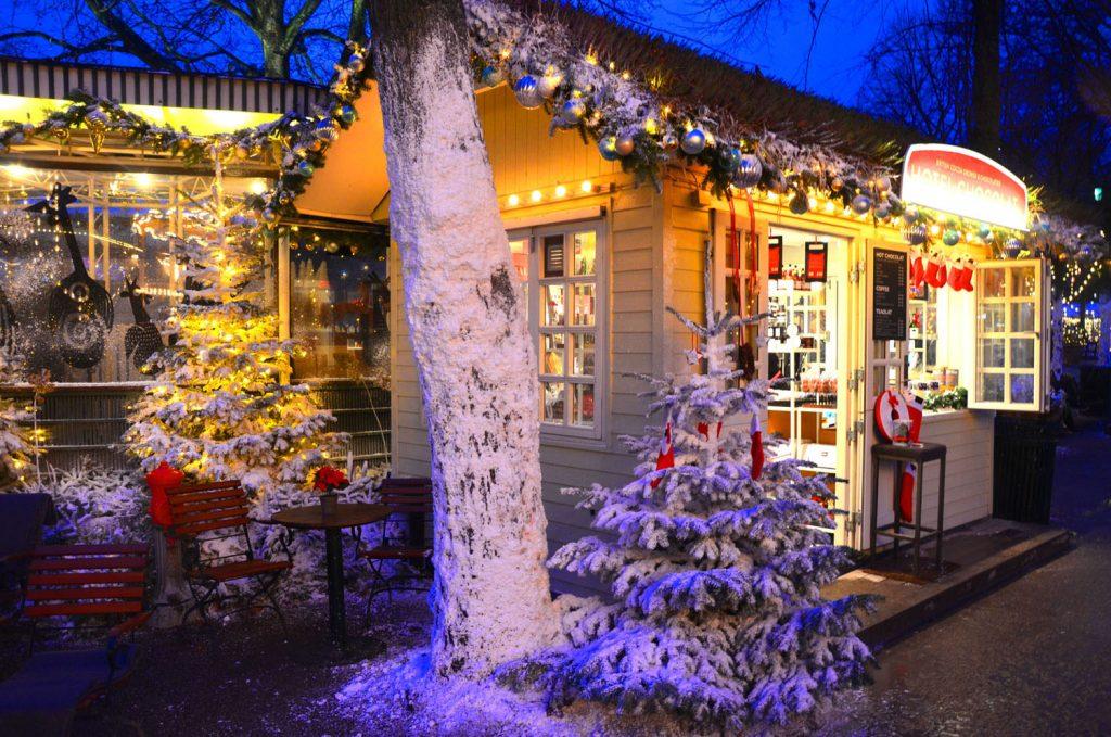 Vianočné trhy v Kodani
