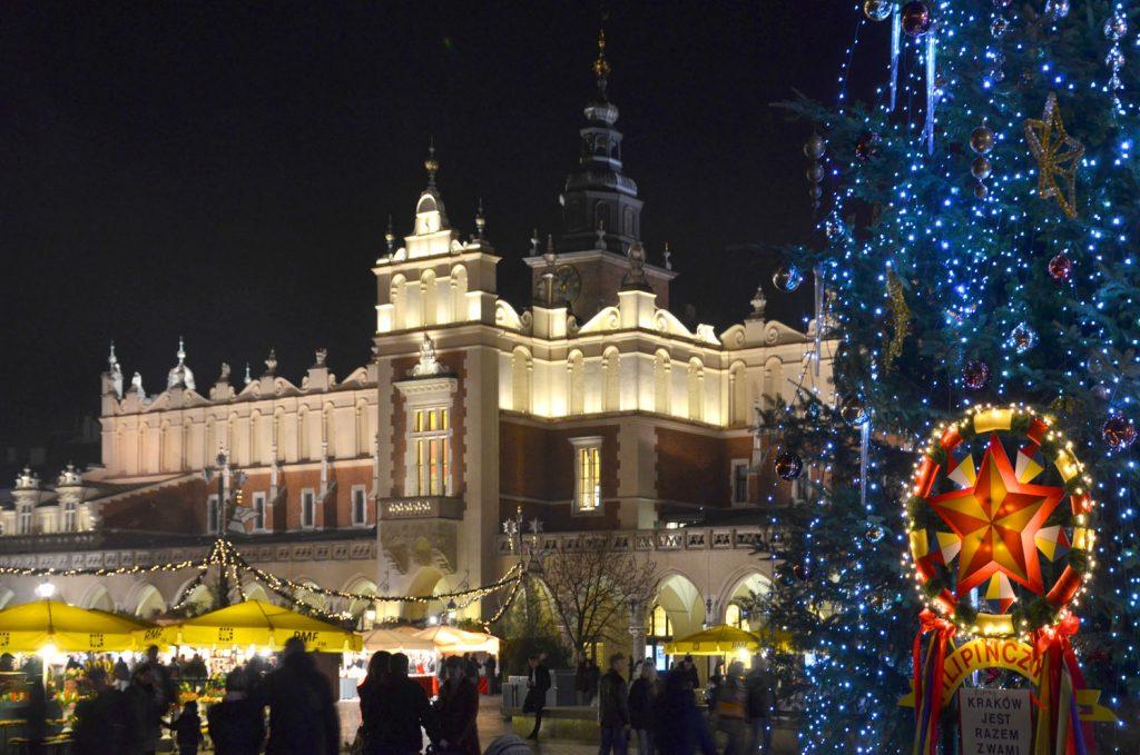 Vianočné trhy v Krakove