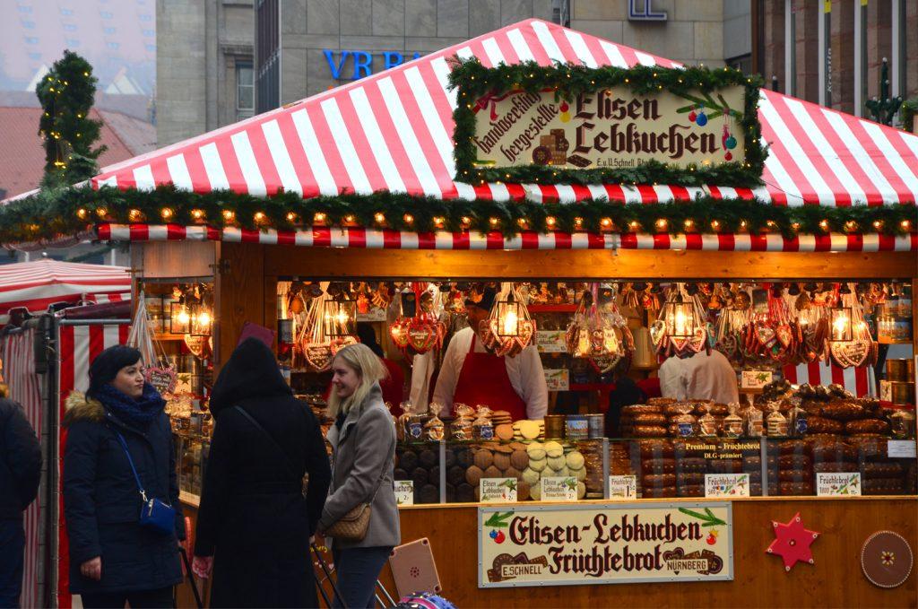 Vianočné trhy v Norimbergu - jedlo