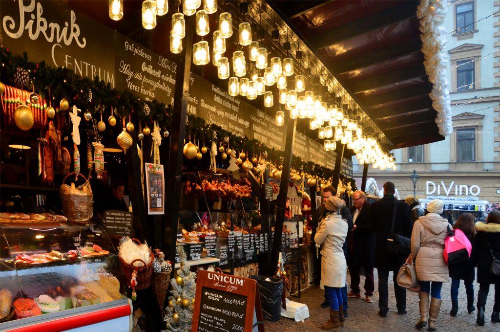 Vianočné trhy Budapešť
