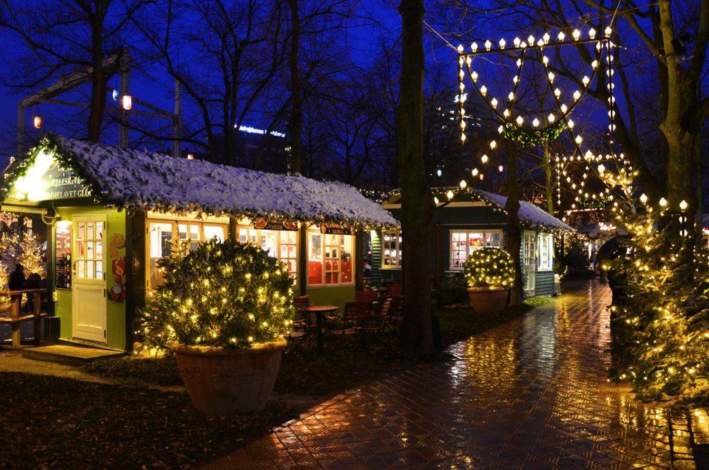 Kodaň - Vianočné trhy