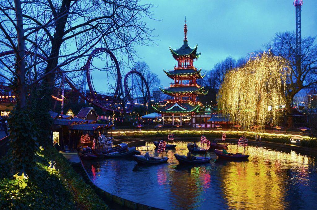 Kodaň - Výzdoba na vianočných trhoch