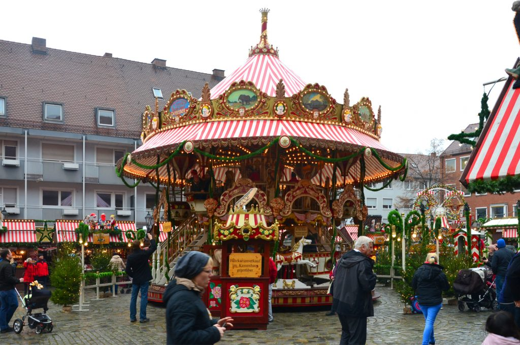 Vianočné trhy v Norimbergu - výzdoba