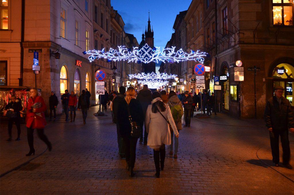 Vianočné trhy v Krakove - výzdoba