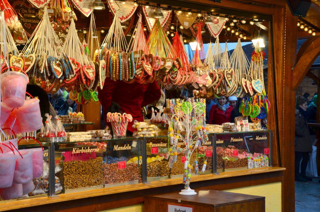 Najkrajšie vianočné trhy v Európe - Berlín - všade samé jedlo
