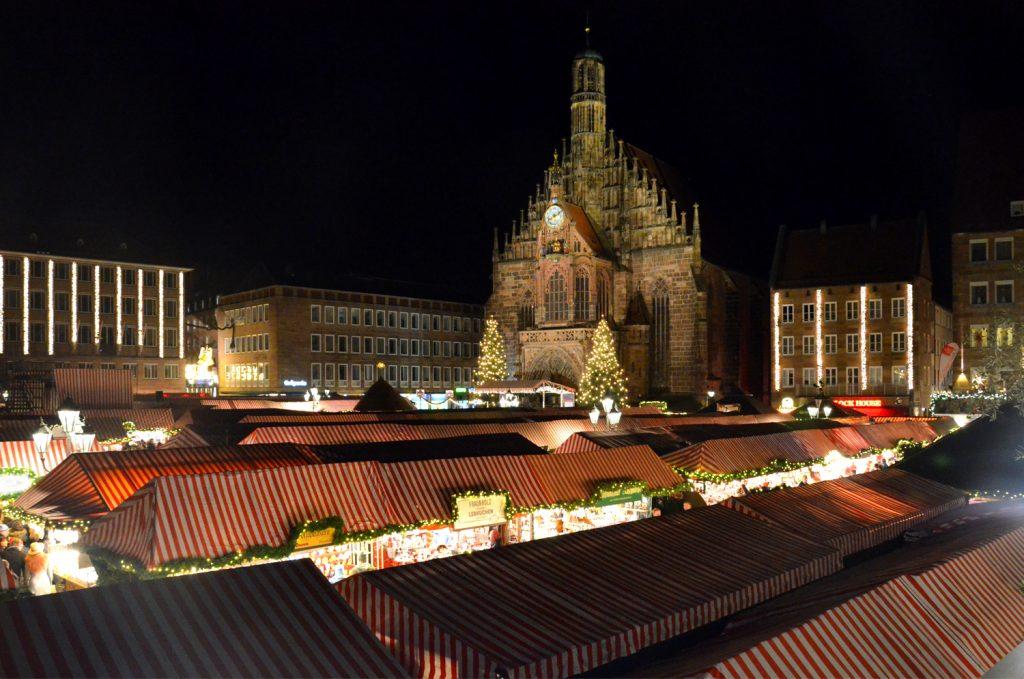 Najkrajšie vianočné trhy v Európe - Vianočné trhy v Norimbergu