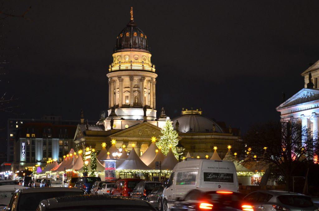 Berlín - Vianočné trhy