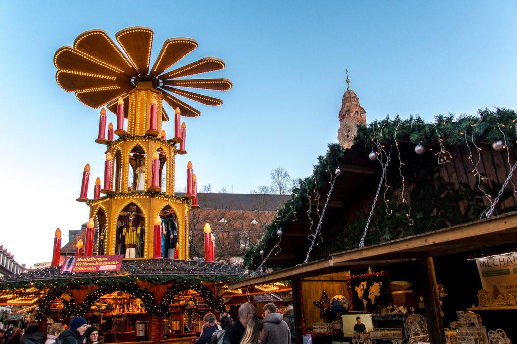 Vianočné trhy Heidelberg / Foto: Archív mybeachaddiction