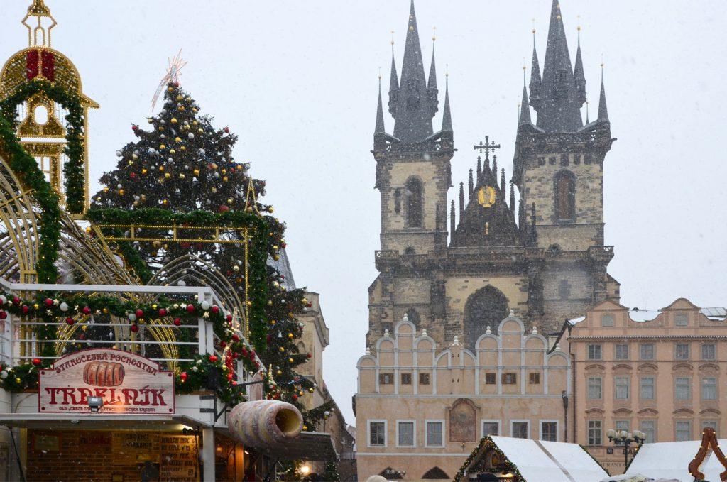 Vianočné trhy v Prahe