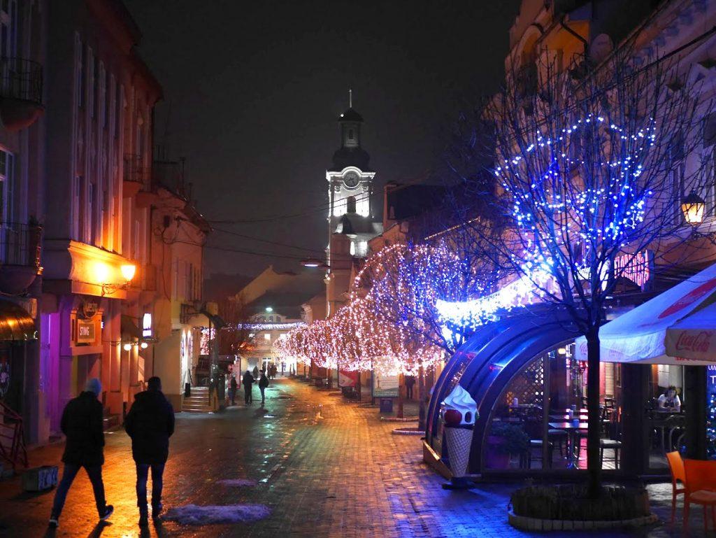 Užhorod - Vianočné trhy /Foto: Archív Tonic