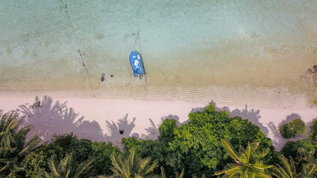Najkrajšie pláže sveta: Thoddoo / Maledivy / Archív Jozef a Hanka