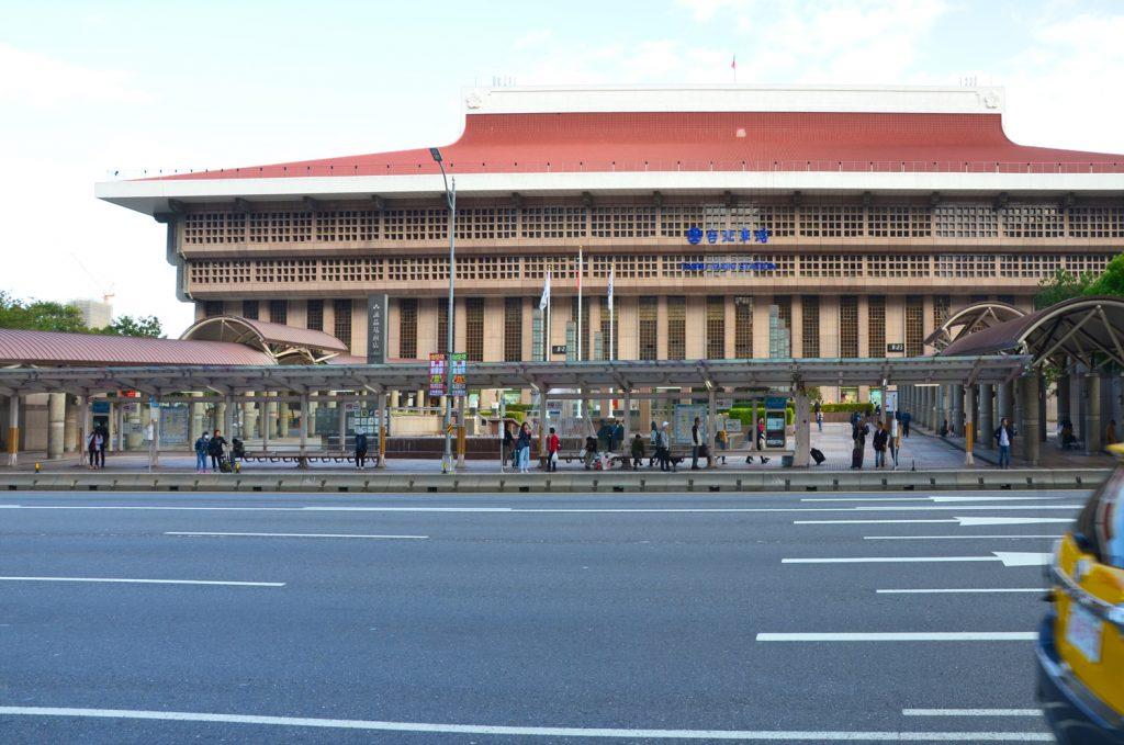 Taipei - železničná stanica