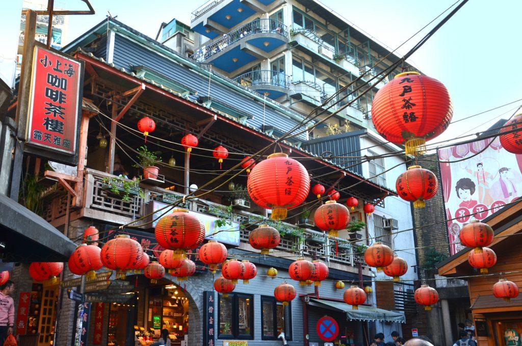 Výlet Taiwan: Jiufen - potulky mestom
