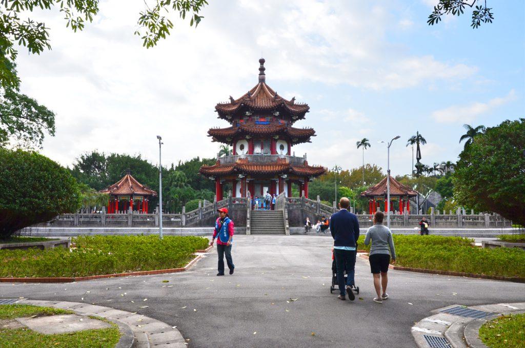 Výlet Taiwan - Taipei - prechádzka parkom