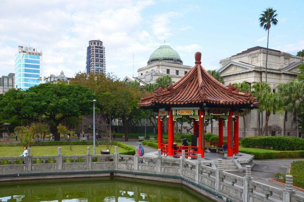 Taipei - prechádzka parkom