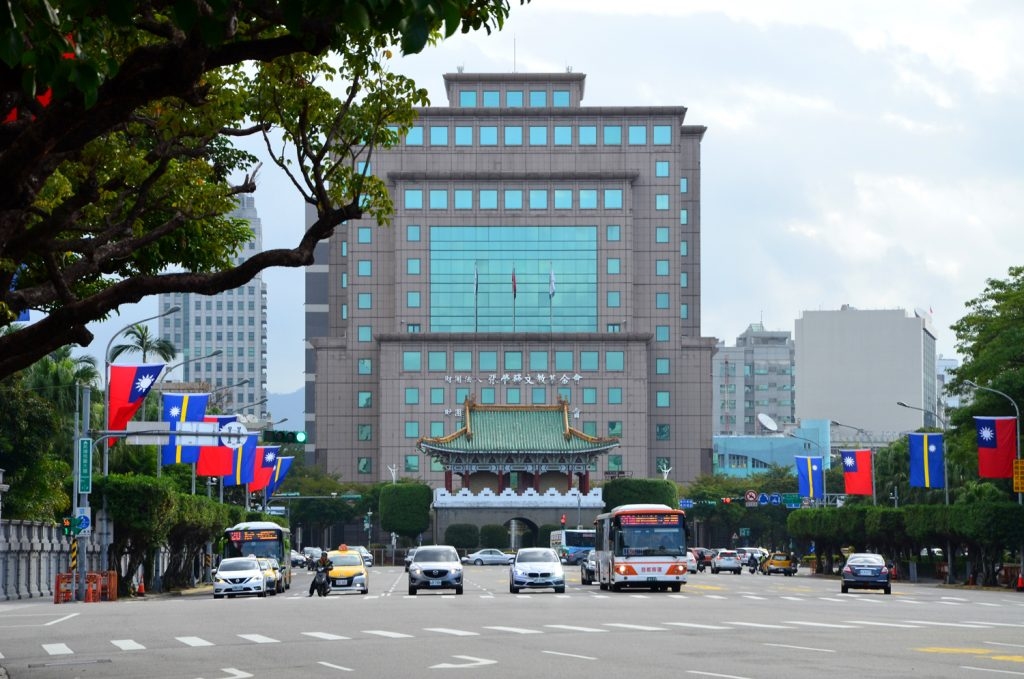 Taipei - poloprázdne mesto