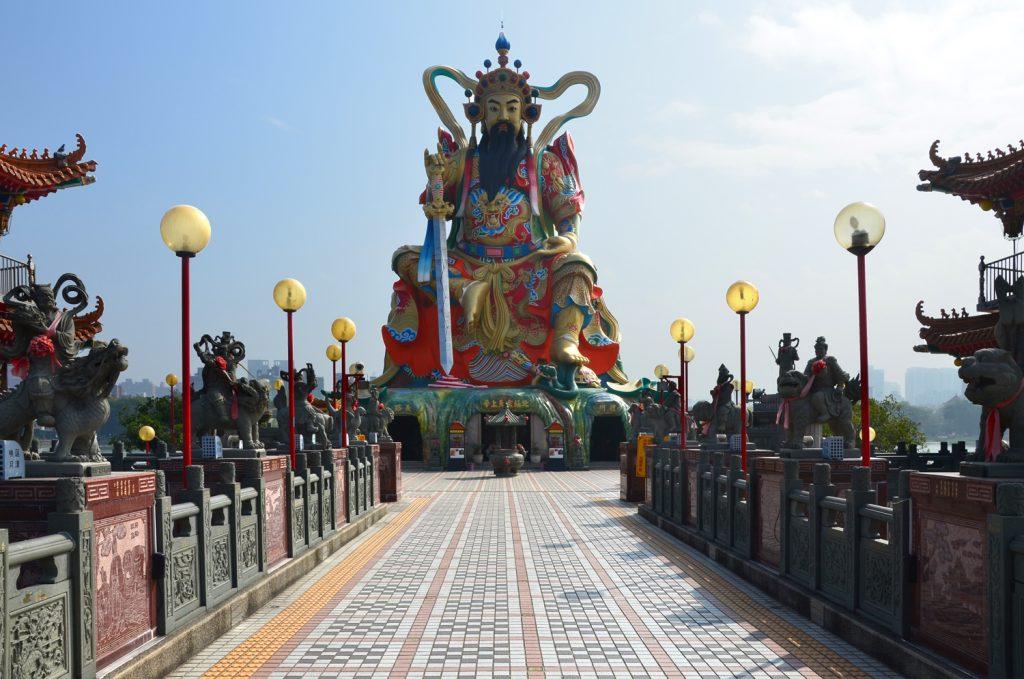 Kaohsiung - Pei Chi Pavilion
