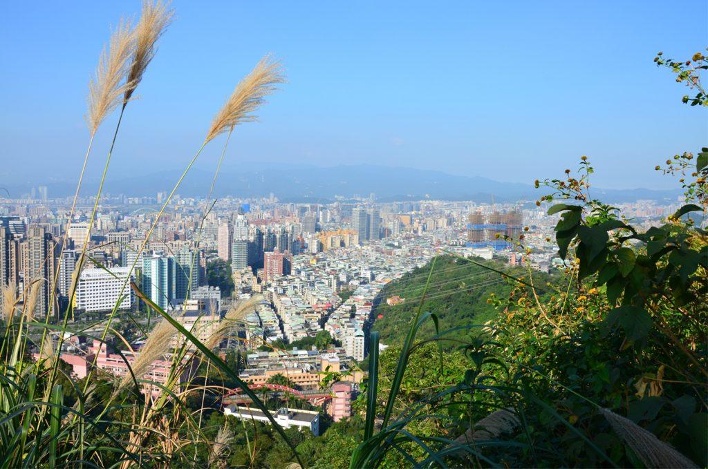 Taipei - výhľad na mesto