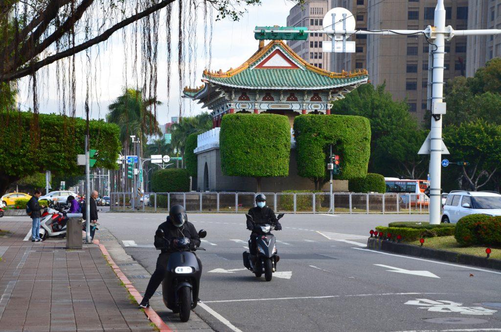Taipei - Prekvapivo prázdne cesty