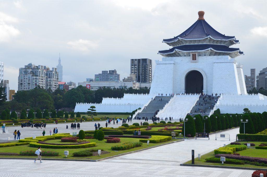 Výlet Taiwan - Taipei Chiang Kai-Shek Memorial Hall