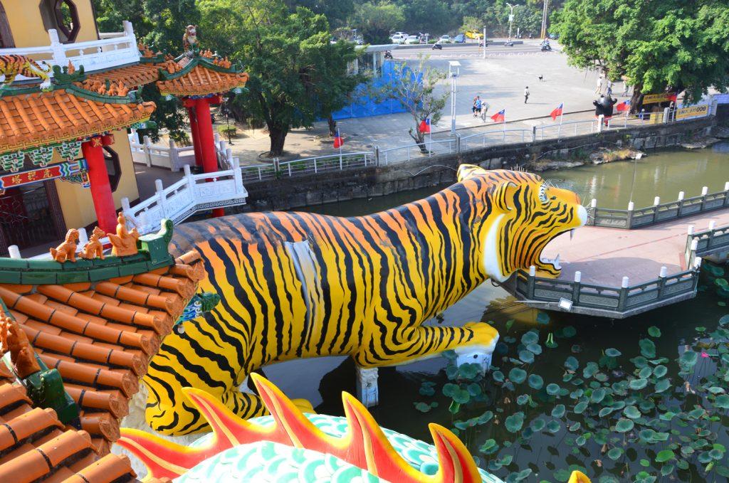 Pohľad zhora na východ cez tigra