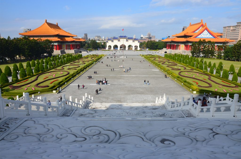Výlet Taiwan - Taipei - Liberty Square