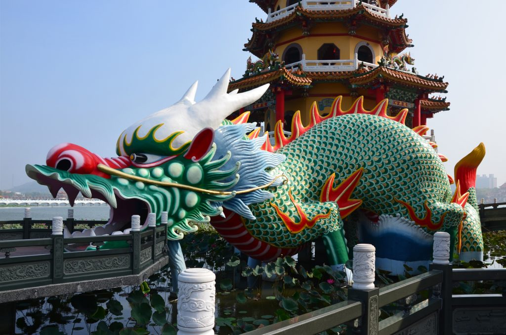 Výlet Taiwan: Vstupuje sa cez draka!