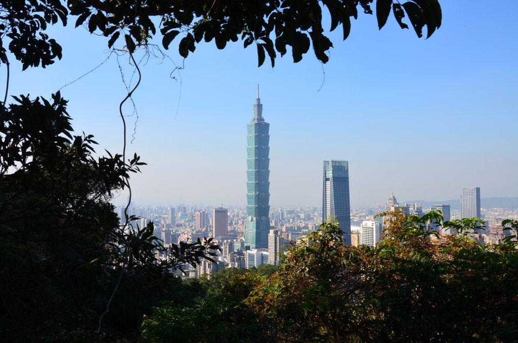 Ďalšie krásne výhľady na Taipei 101