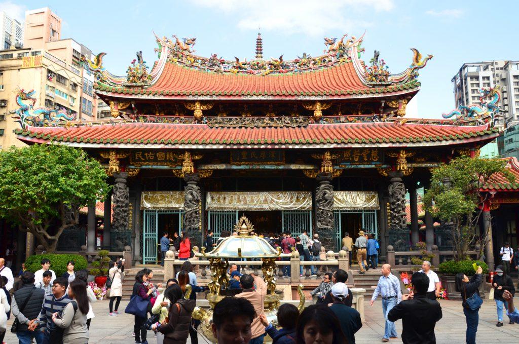 Výlet Taiwan - Taipei - Lungshan Temple