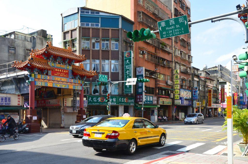 Výlet Taiwan - Potulky mestom