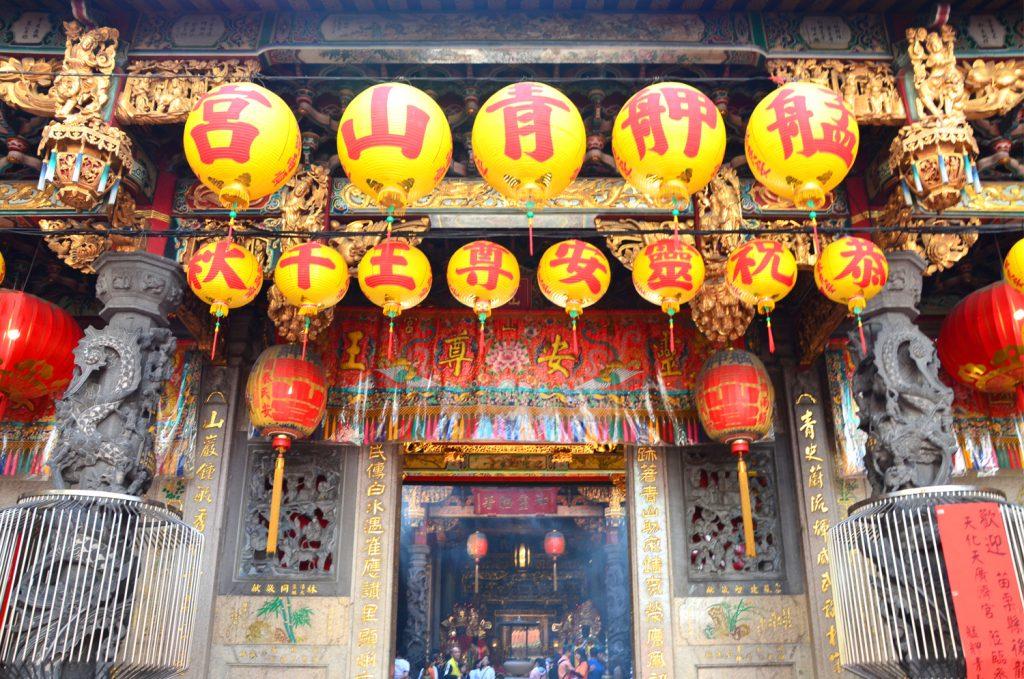 Výlet Taiwan - Všade samé chrámy
