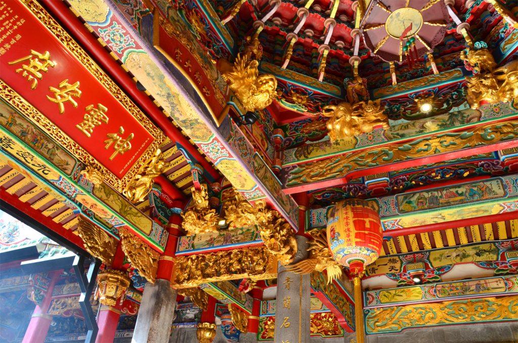 Všade samé chrámy