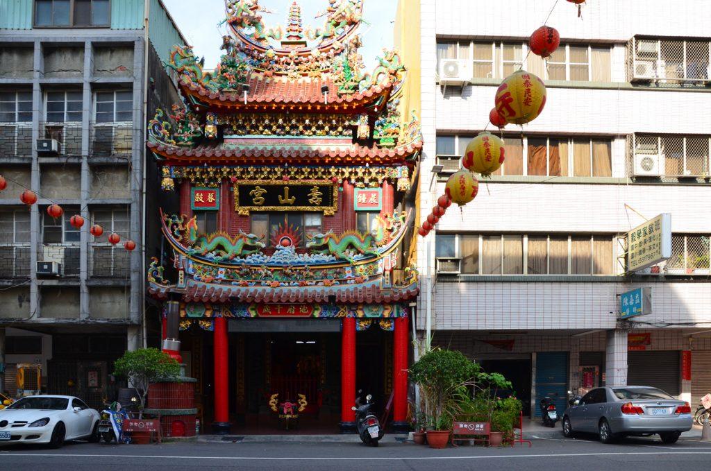 Taiwan je plný chrámov