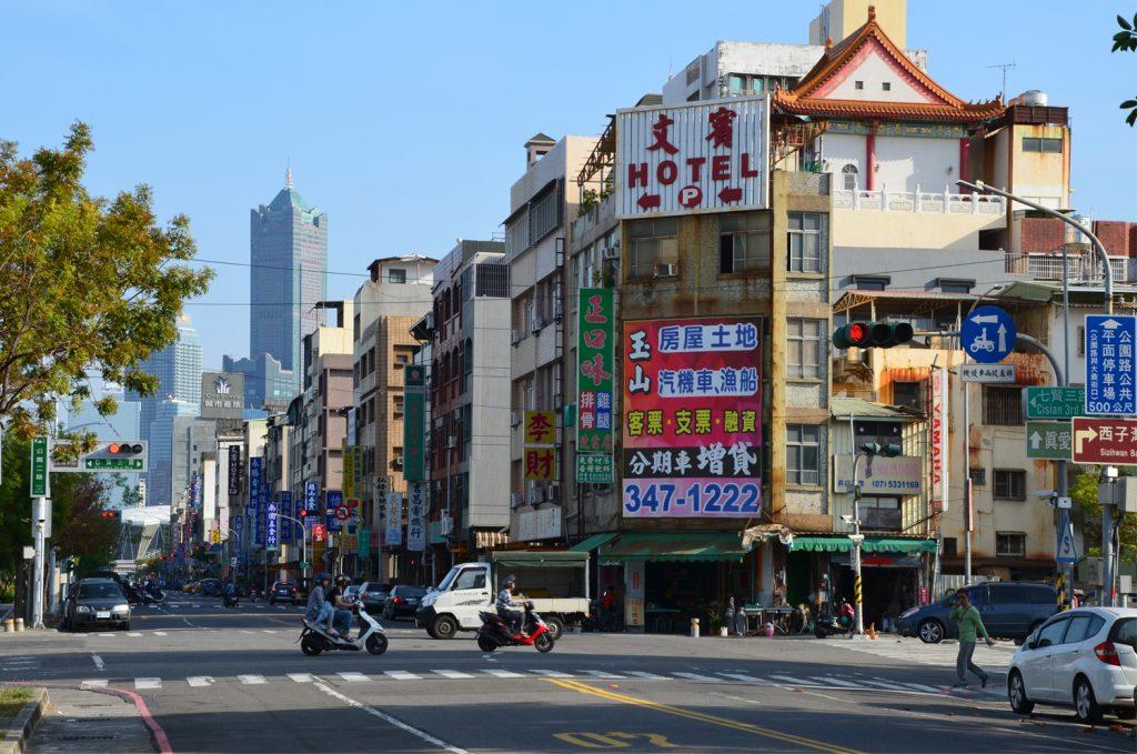 Kaohsiung - potulky mestom