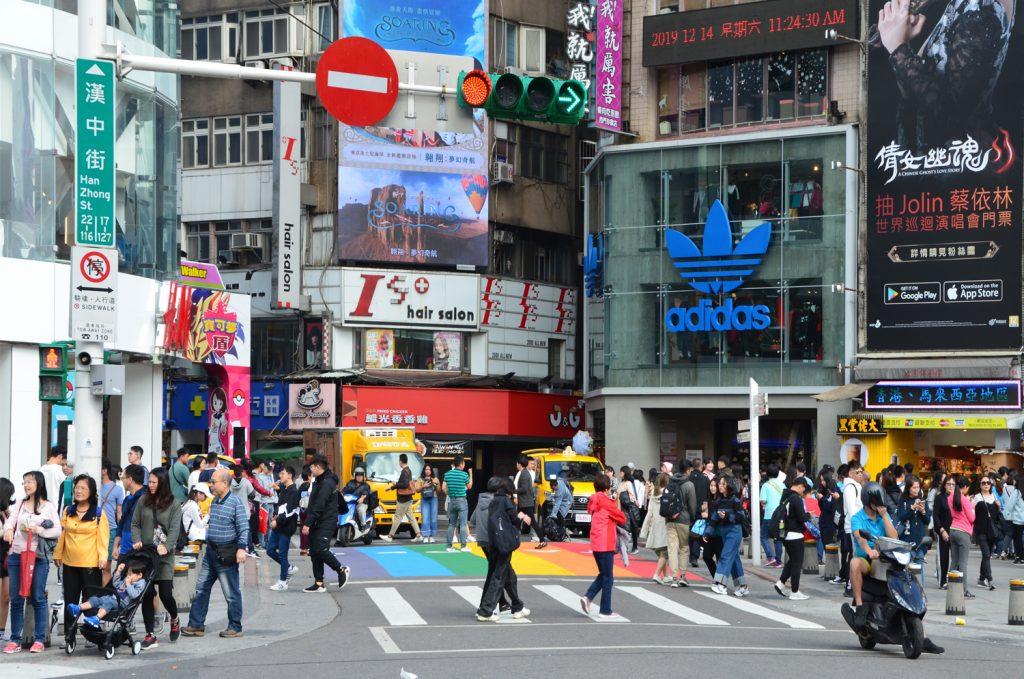 Výlet Taiwan - Taipei - Ximending