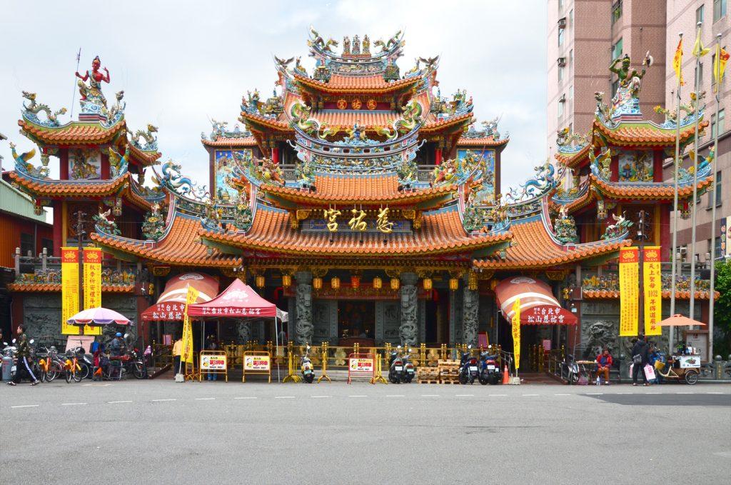 Výlet Taiwan - Taipei  - Songshan Ciyou Temple