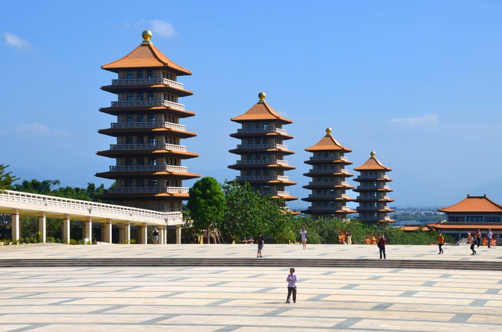 Pohľad na pagody