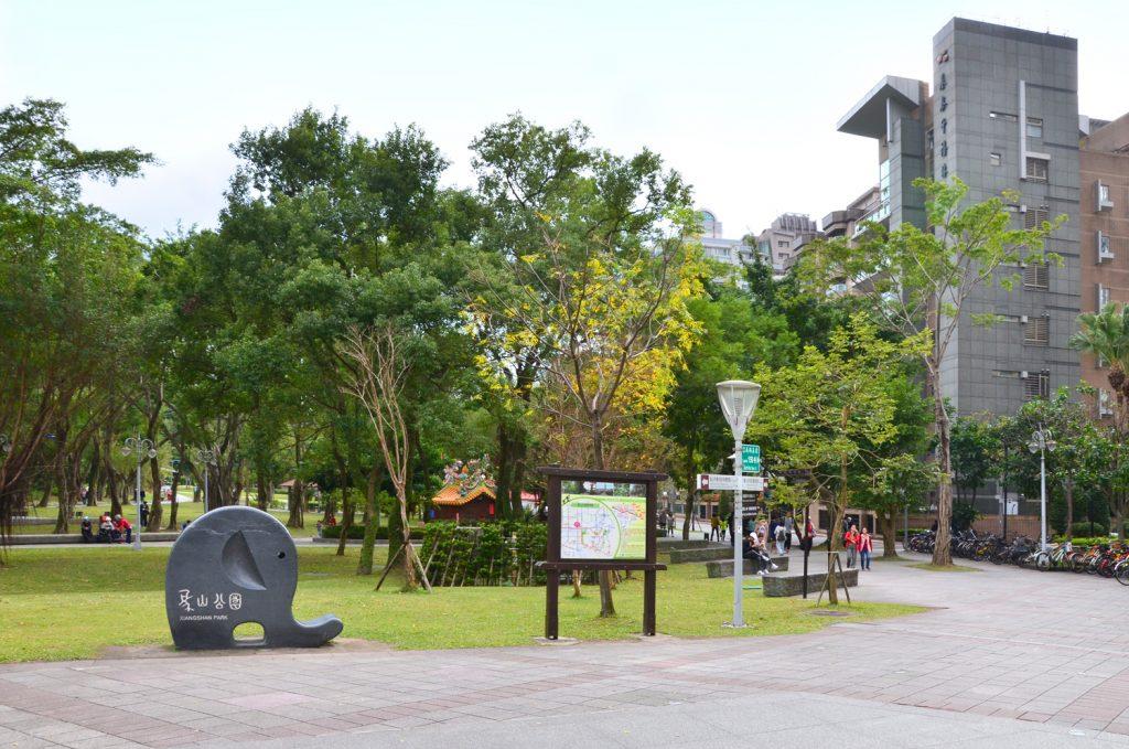 Park pod chodníkom na Sloniu horu