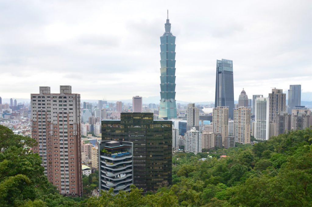 Výlet Taiwan - Prvá vyhliadka na Taipei 101