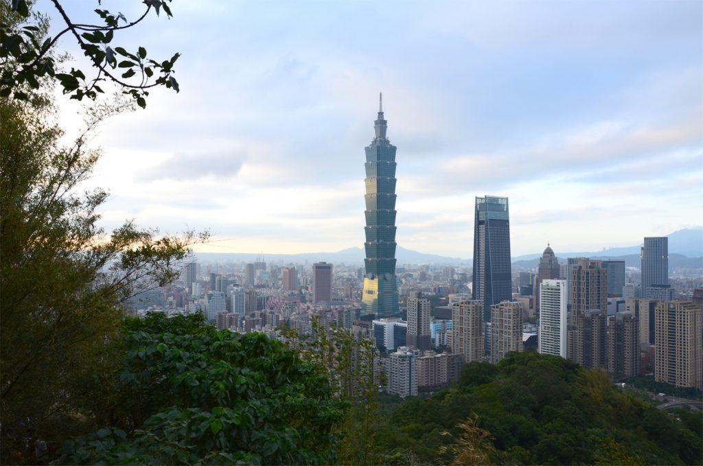 Výlet Taiwan - Taipei 101 cez deň